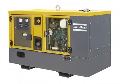 Дизельный генератор Atlas Copco QES 120 с АВР