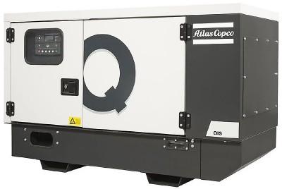 Дизельный генератор Atlas Copco QIS 10 в кожухе