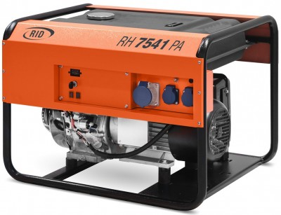 Бензиновый генератор RID RH 7540 PA