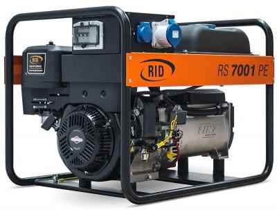 Бензиновый генератор RID RS 7000 P