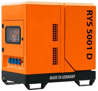 Дизельный генератор RID RYS 5001 D