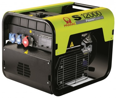 Бензиновый генератор Pramac S12000 3 фазы AUTO