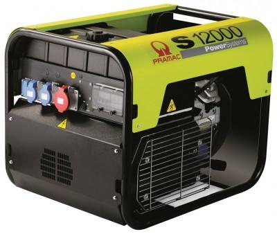 Бензиновый генератор Pramac S12000 3 фазы