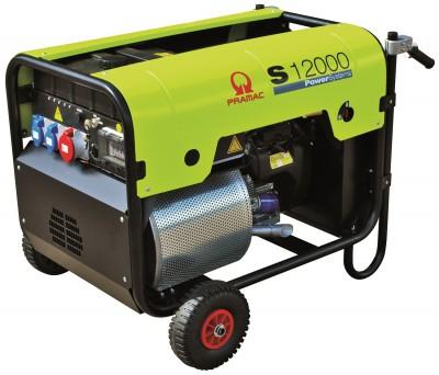 Бензиновый генератор Pramac S12000 AUTO