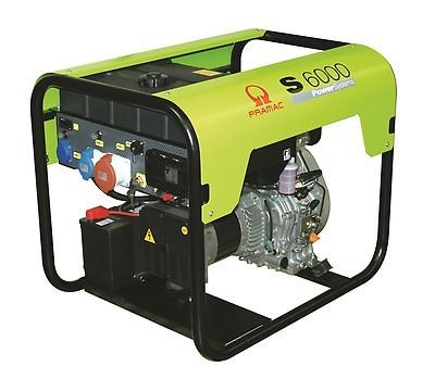 Дизельный генератор Pramac S6000 3 фазы с АВР