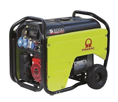 Бензиновый генератор Pramac S8000 3 фазы с АВР