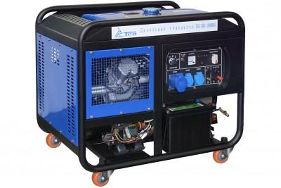 Дизельный генератор ТСС SDG 10000 E ATS