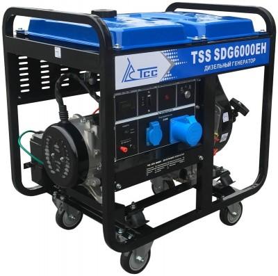 Дизельный генератор ТСС SDG 6000EH