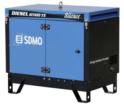 Дизельный генератор SDMO DIESEL 6500 TE SILENCE с АВР