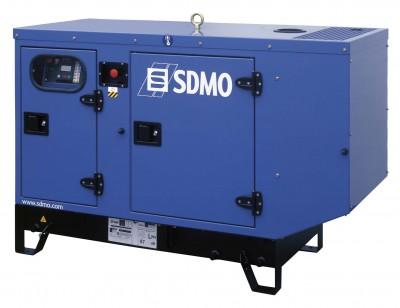 Дизельный генератор SDMO T 11HKM в кожухе с АВР