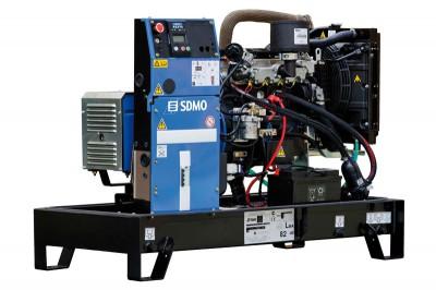 Дизельный генератор SDMO K 12M с АВР