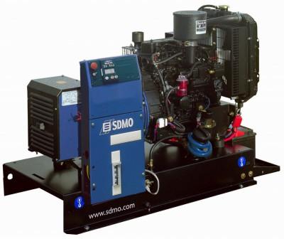 Дизельный генератор SDMO T 12HK с АВР