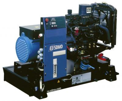 Дизельный генератор SDMO T 17KM с АВР