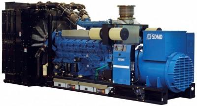 Дизельный генератор SDMO T2500