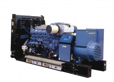 Дизельный генератор SDMO V 400C2 с АВР