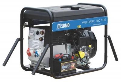 Дизельный генератор SDMO WELDARC 300 TDE XL C