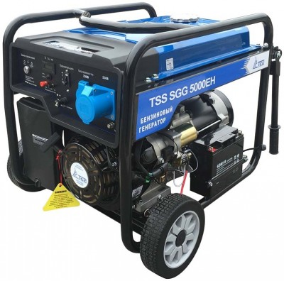 Бензиновый генератор ТСС SGG 5000 EH (новая модель)
