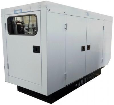 Дизельный генератор АМПЕРОС АД 12-Т230 в кожухе с АВР