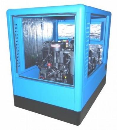 Дизельный генератор Вепрь АДА 3,5-230 ТФ в кожухе