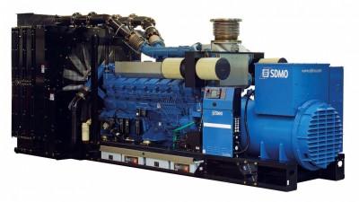 Дизельный генератор SDMO T2200 с АВР