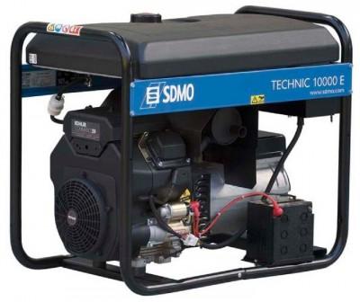 Бензиновый генератор SDMO TECHNIC 10000 E