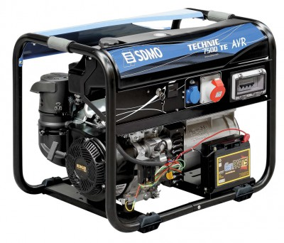 Бензиновый генератор SDMO Technic 7500 TE AVR C