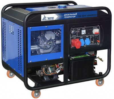 Дизельный генератор ТСС SDG 10000 E3 ATS