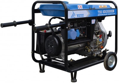 Дизельный генератор ТСС SDG 5000 EH с АВР