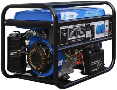 Бензиновый генератор ТСС SGG 6000 E (новая модель)