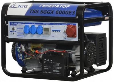 Бензиновый генератор ТСС SGGX 6000 E3