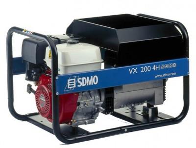 Бензиновый генератор SDMO VX 200/4 HC (VX 200/4 HS)