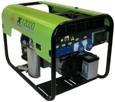Бензиновый генератор Pramac X 12000 3 фазы
